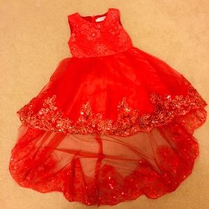 Other - Beautiful Red Toddler Dress